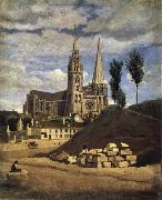 The Cathedral of market analyses Corot Camille
