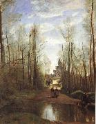 The church of Marissel Corot Camille