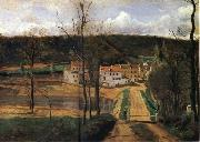 The houses of cabassud Corot Camille