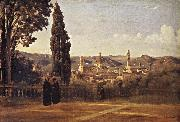 Florence Since the Gardens of Boboli Corot Camille