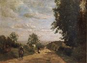 The road of sevres Corot Camille