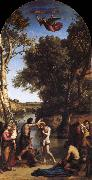 The Baptism of Christ Corot Camille