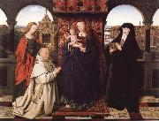 Virgin and Child with Saints and Donor Jan Van Eyck