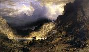 A Storm in t he Rocky Mountains,Mt,Rosalie Albert Bierstadt