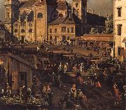 The Freyung in Vienna from the south-east Bernardo Bellotto
