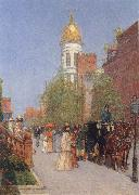 A Spring Morning Childe Hassam