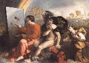 Fupite Mercury and Virtus or Virgo Dosso Dossi