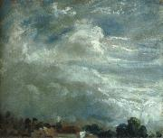 Cloud Study over a horizon of trees John Constable