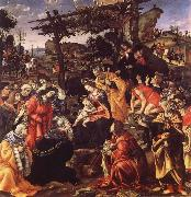 The adoration of the Konige Filippino Lippi