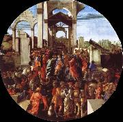 The adoration of the Konige Sandro Botticelli