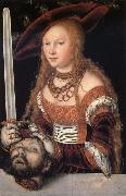 Fudith with the head of Holofernes Lucas Cranach