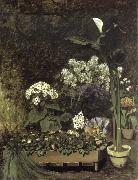 Still Life-Spring Flowers in a Greenhouse renoir