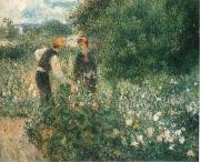 Picking Flowers renoir