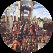 Adoration of the Kings Sandro Botticelli