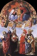 The Coronation of the Virgin Sandro Botticelli