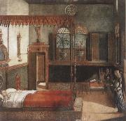 The Dream of St Ursula Vittore Carpaccio