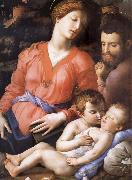 The Sacred Family Second half of the century XVI Agnolo Bronzino
