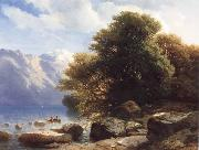 THe Lake of Thun Alexandre Calame