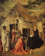 The adoration of the three Kings BOSCH, Hieronymus