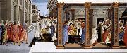 Baptism of St Zenobius and His Appointment as Bishop Botticelli