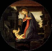 The Virgin Adoring the Child Botticelli