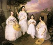 The Daughters of Medgyasszay Brocky, Karoly