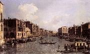 Looking South-East from the Campo Santa Sophia to the Rialto Bridge Canaletto
