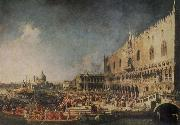 The Arrival of the French Ambassador in Venice Canaletto