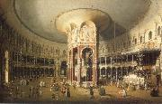 London Interior of the Rotunda at Ranelagh Canaletto