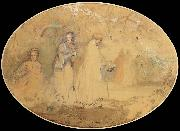 The Meeting Charles conder