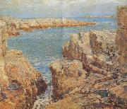 Coast Scene Isles of Shoals Childe Hassam