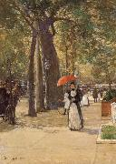 Die Fifth Avenue am Washington Square Childe Hassam