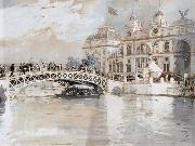 Columbian Exposition Chicago Childe Hassam