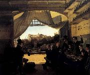 Crown Prince Ludwig in the Spanish Wine Tavern in Rome Franz Ludwig Catel