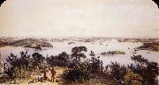 The City and Harbour of Sydney George French Angas