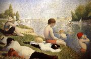 Baders in Asnieres Georges Seurat