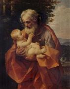 St Joseph with the Infant Christ Guido Reni
