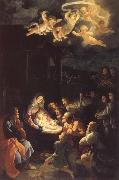The Adoration of the Shepherds Guido Reni