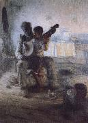 The first lesson Henry Ossawa Tanner