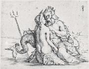 Triton and Nereid Jacopo de Barbari