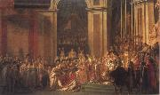 Consecration of the Emperor Napoleon i and Coronation of the Empress Josephine Jacques-Louis David