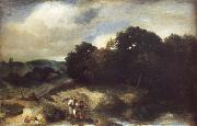 A Landscape with Tobias and the Angel Jan lievens