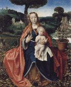 THe Virgin and Child in a Landscape Jan provoost