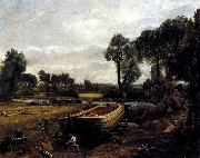 Boat-Building on the Stour John Constable