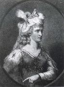 Sarah Siddons as Zara in Congreve-s The Mourning Bridg John Raphael Smith