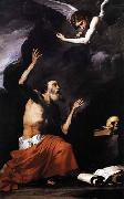 St Jerome and the Angel Jose de Ribera