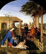 The Family of St John the Baptist Visiting the Family of Christ Julius Schnorr von Carolsfeld