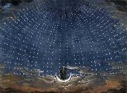 Stage set for Mozart's Magic Flute Karl friedrich schinkel