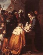 Adoration of the Magi MURILLO, Bartolome Esteban