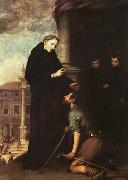 St. Thomas of Villanueva Distributing Alms MURILLO, Bartolome Esteban